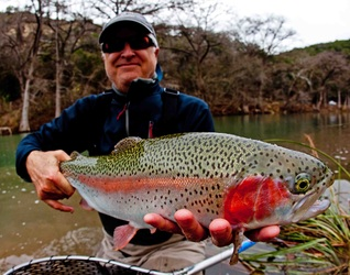 Guadalupe River Fly Fishing Guide Guides Guided Trout Trips